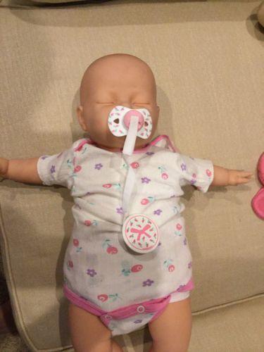 Lifelike Baby Doll w/Pacifier