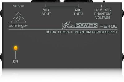 Behringer PS400 Phantom Power Supply