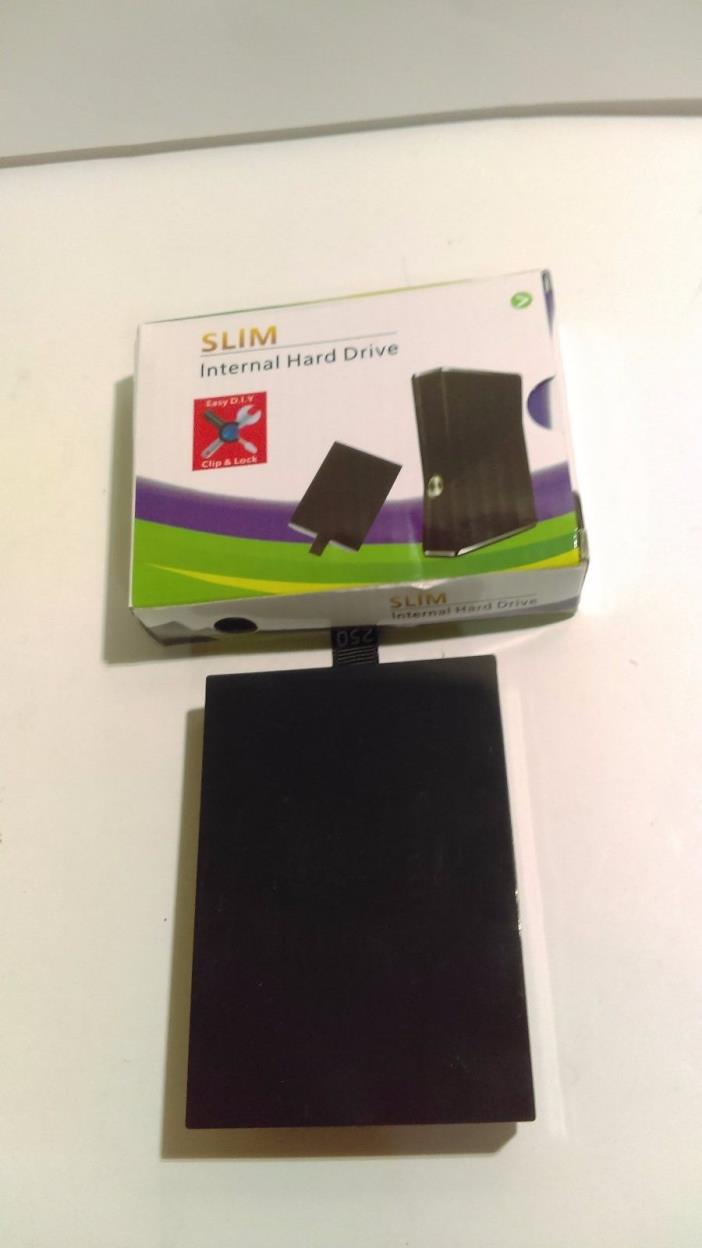 250GB Internal HDD Hard Drive Disk Disc for XBOX 360 S Slim Game