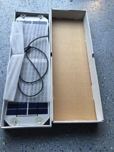 Bmw Solar Battery Charging Panel Mini Oem New 81 39 2 353 004