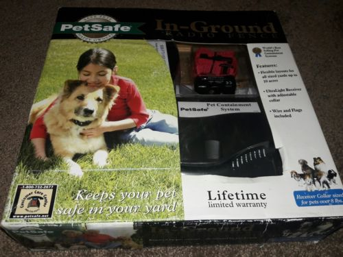 NIB PetSafe Premium In-Ground Radio Fence PRF-3004W Dogs Over 8lbs