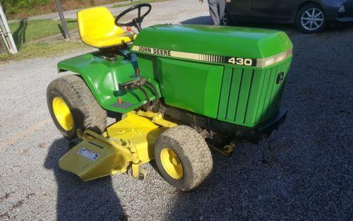John Deere 430 Garden Tractor For Sale Classifieds
