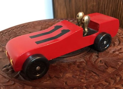 WOODEN BOY SCOUT CUB SCOUT PINEWOOD DERBY COMPLETED CAR