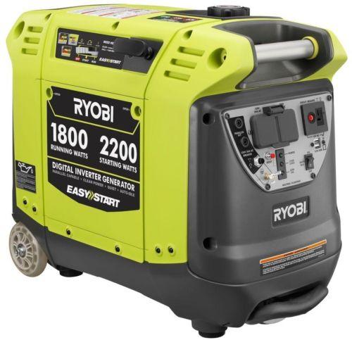 Digital Inverter Generator 2200 Watt Gasoline Powered w/ Auto Voltage Regulation