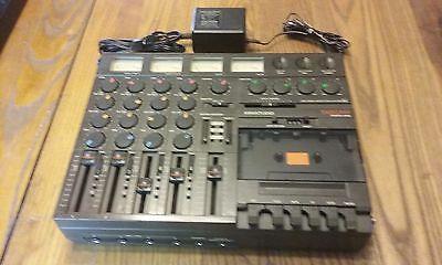 TASCAM Porta One 4 Track Studio w/ Original Manual and Power Supply