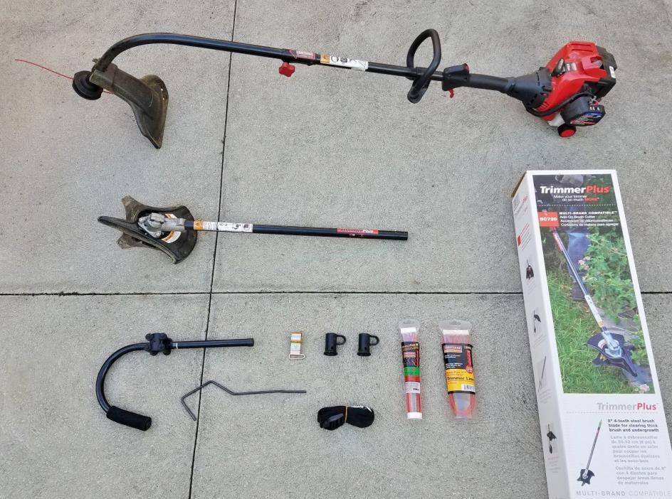 Craftsman Weedwacker 25cc Gas Speed Start String Trimmer BC720 Plus Brush Cutter