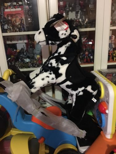 Rocking Horse Black And White Spots With Sound Effects