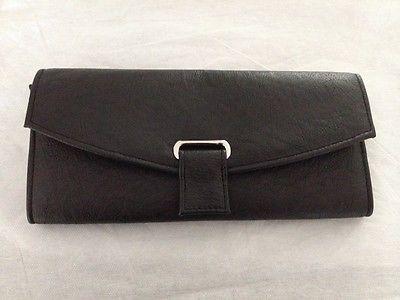 Gunther mele travel jewelry wallet  women new black