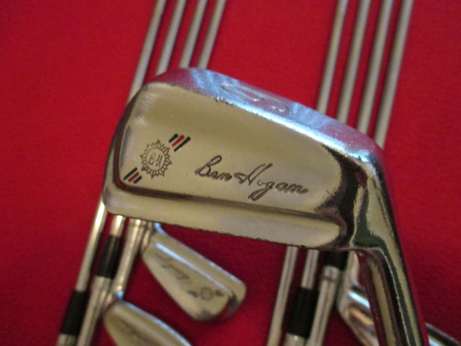 Vintage 1966 Ben Hogan Percussion Irons (2-W) Iron Set