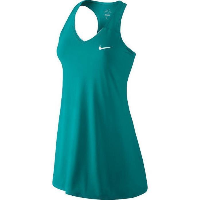 NEW NIKE TENNIS DRESS 728736 389 WOMEN'S SIZE LARGE $70