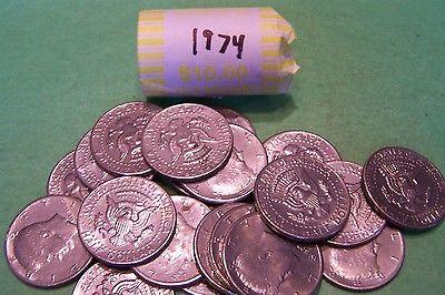 1974 Kennedy Half Dollar Roll (20 coins)