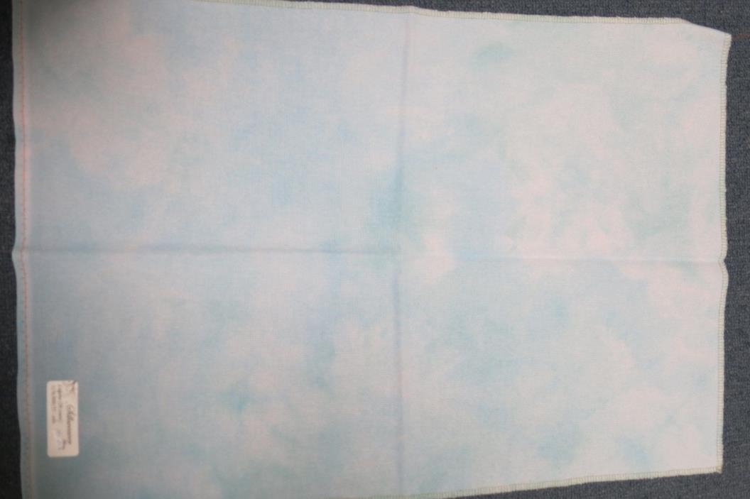 Silkweaver 20 count Lugana Solo Blues Cross Stitch Fabric