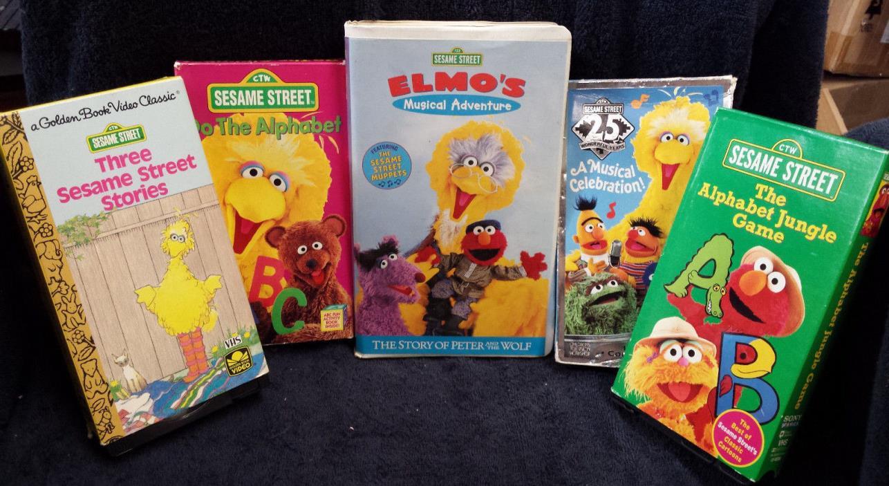 Sesame Street Vhs Lot 11 Related Keywords - Sesame Street ...