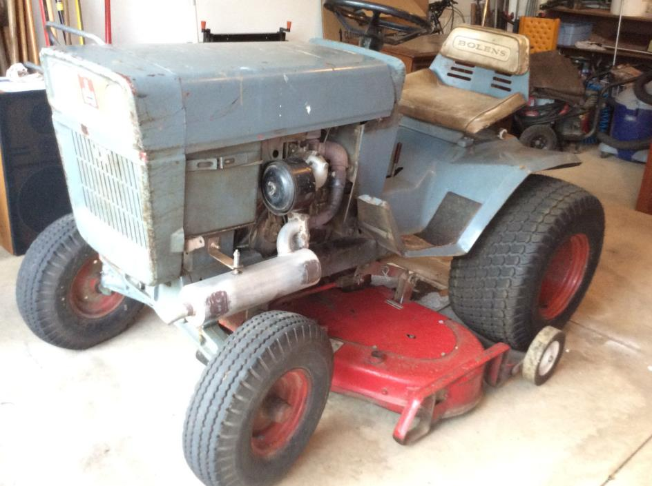 1971 Bolens Tractor M/N 1476/01 Large frame hydrostatic with 48