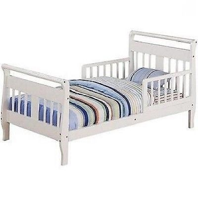 Toddler Bed Frame Bedroom Furniture Dream On Me White