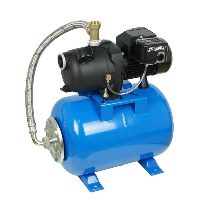Everbilt 1/2 HP Shallow Well Jet Pump with 6 Gal gallon Tank AUTOJ100A3