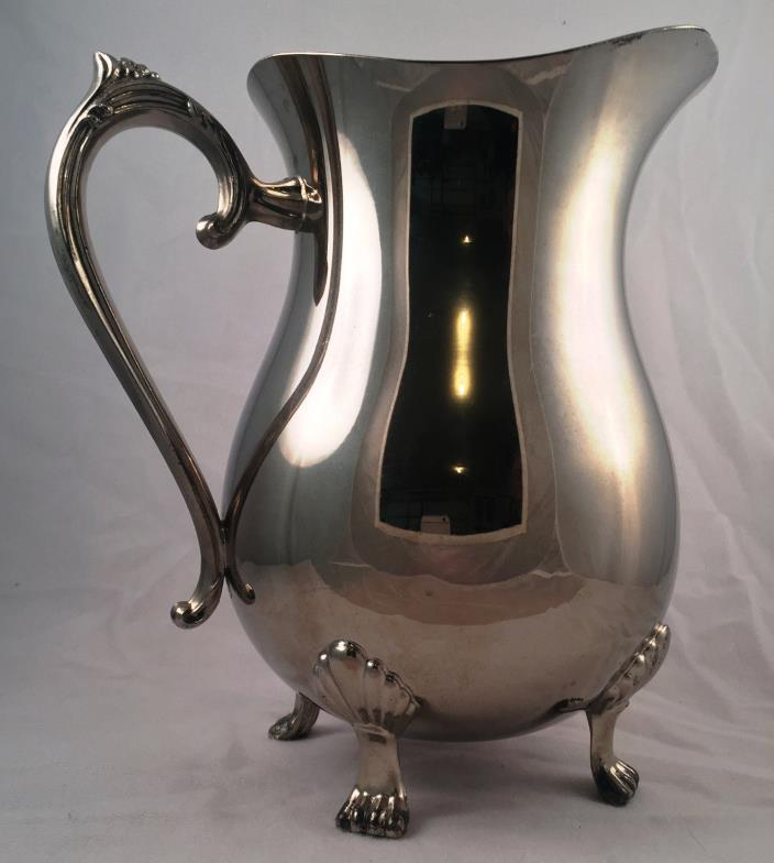 Silver Plated Plated Water Pitcher