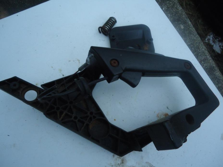 Poulan Chainsaw handle and trigger