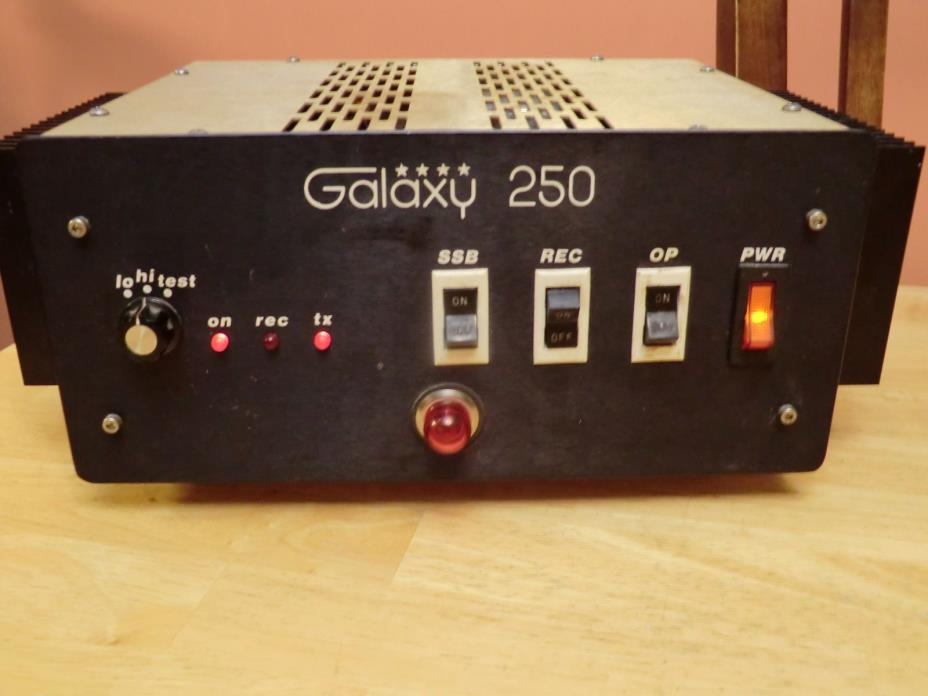 GALAXY POWER SUPPLY AND AMPLIFIER TECH SPECIAL