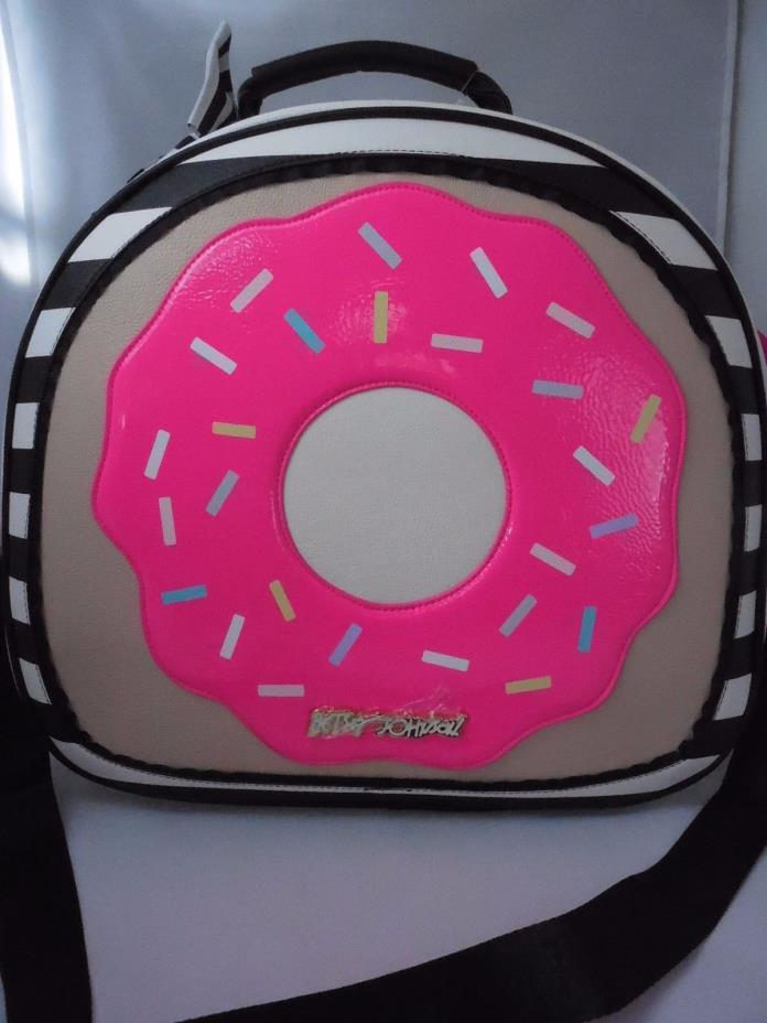 Betsey Johnson DONUT Weekender Travel Train Case **** FOR ALEX ONLY PRIVATE LIST