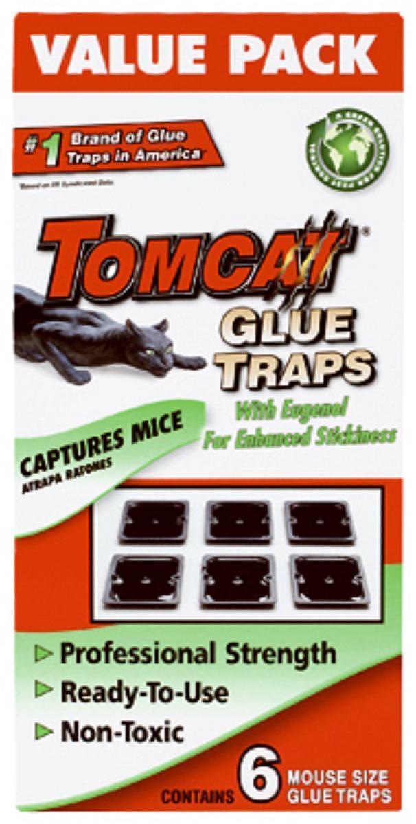 Tomcat 6pk Mouse Glue Trap BL32414