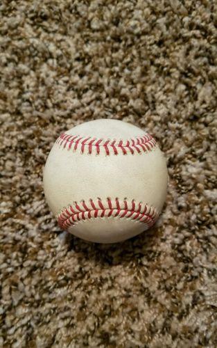 2015 Game Used Baseball Maikel Franco HISTORY Rupp Yankees Phillies Phestival