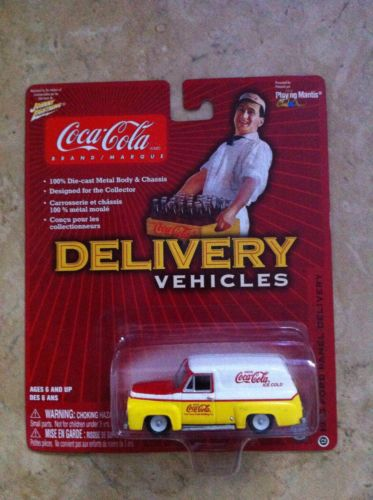 Johnny Lightning Coca Cola Delivery Vehicle 1955 Ford Panel Delivery Coke