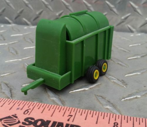 1/64 ertl farm toy green standi toys hay straw corn stalk stacker tandem tire
