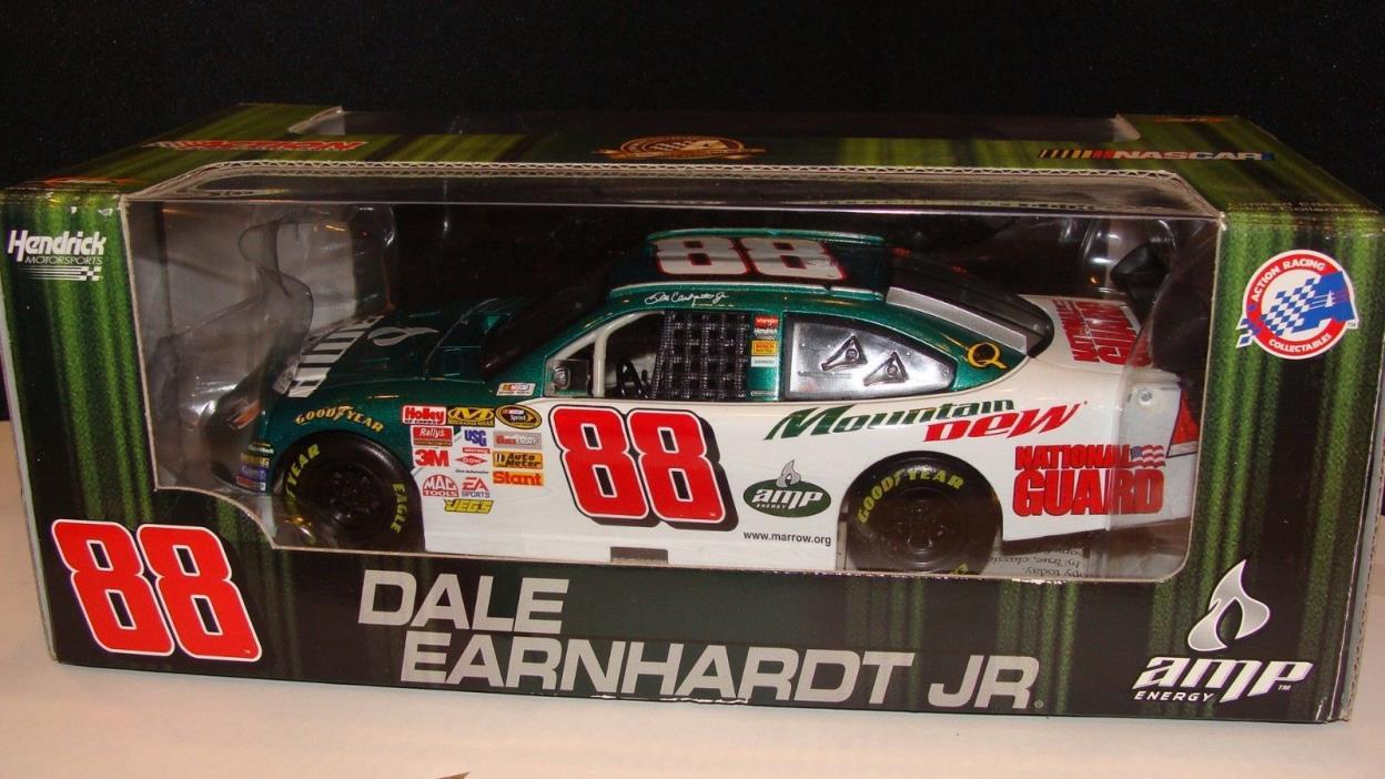 NASCAR Racing Dale Earnhardt Jr. Diecast Car 1:24 Action 2008 #88 Mountain Dew!