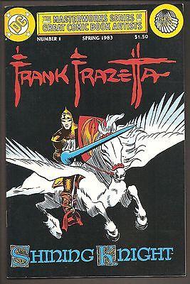 FRAZETTA ART! MASTERWORKS SERIES - SHINING KNIGHT #1 VF-NM DC 1983