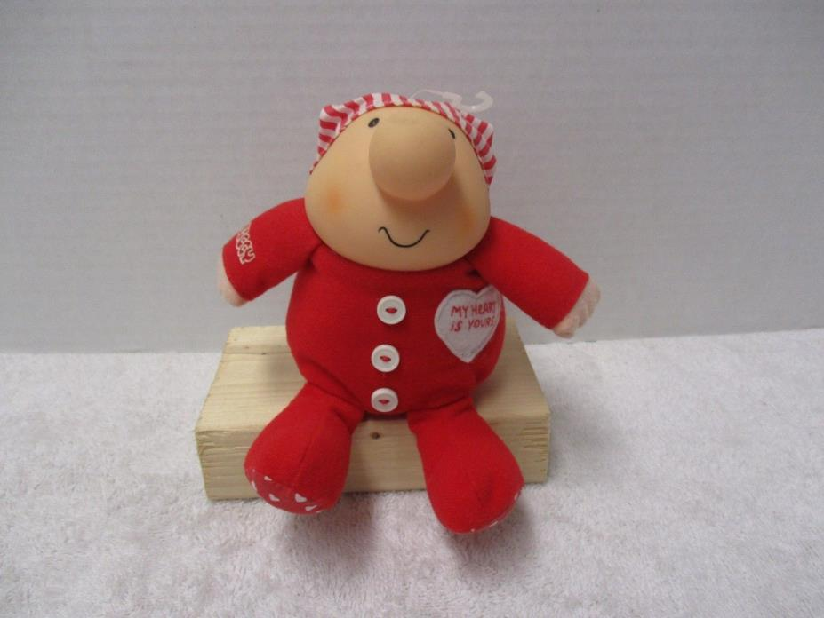Vintage 1990 Tom Wilson Ziggy Valentines Day My Heart is Yours Plush Toy 6