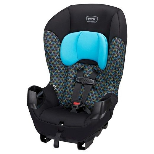 Sonus? Convertible Car Seat Evenflo Infant, Toddler Vehicle Seat Blue