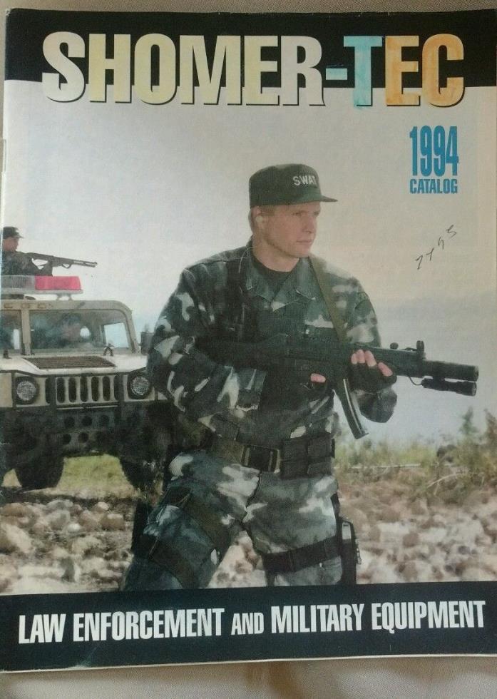 Shomer-Tec 1994 catalog (Law Enforcement & Military Equipment)