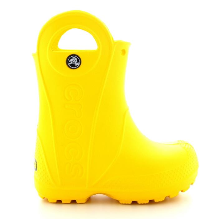 Unisex Kids Crocs Handle It Waterproof Rain Winter Snow Wellies Boots size 11