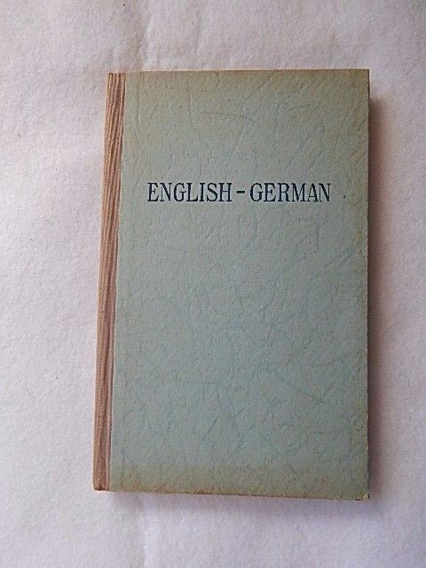 Vintage U.S.Army English-German 30 German Lessons