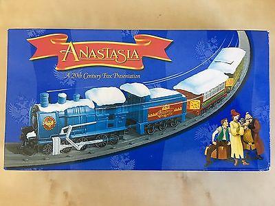 1997 NIB Anastasia Train Set MOVIE Release 20th Century Fox BATTERY OPERATED