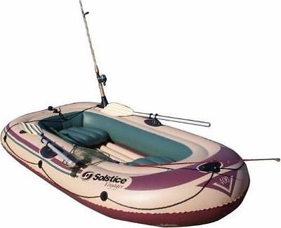 Marine Inflatable Boat Fishing Boat W Seats 4-Person Camping Supplies Lake Pool