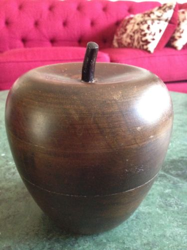 Hand Made Decorative Wooden Apple