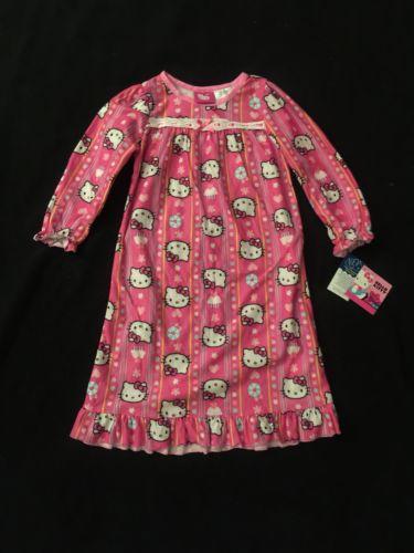 NEW Girls Hello Kitty Pajamas Toddler Size 4T