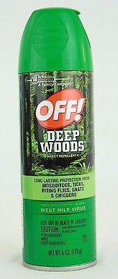Off! Deep Woods Insect Repellent V  6 oz.