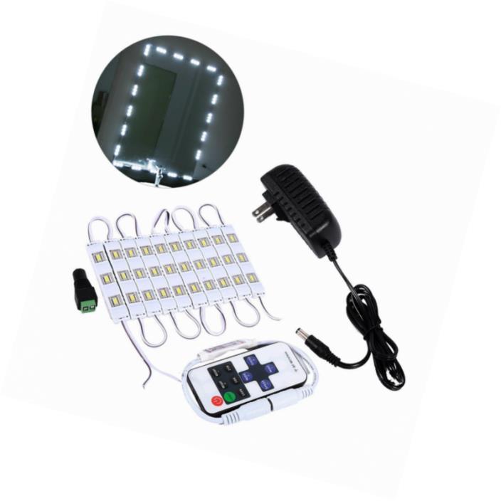 LED Mirror Light Kit,5FT/10FT white Lighte Cosmetic Makeup Mirror LED Light
