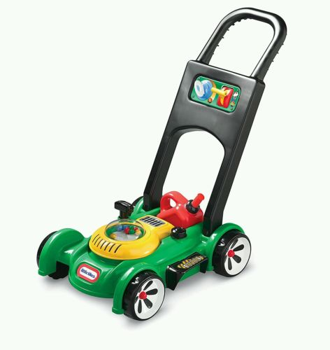 Kid Lawn Mower Out Door Sound Toy Child Activity Play Pull Cord Gas Learn Tool