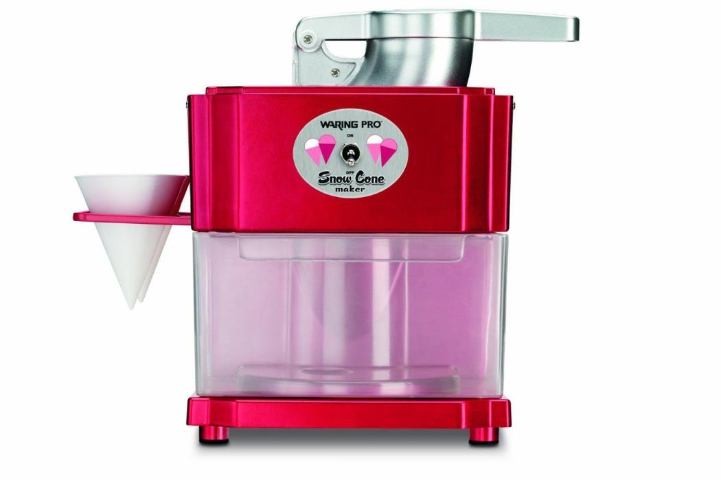 Waring Pro SCM100 Professional Snow Cone Maker Scrumptious Slushes/Party Drinks