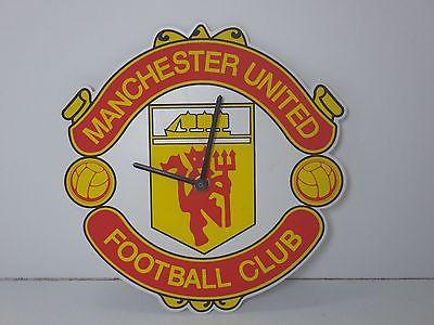 Vintage English Manchester United wall clock Near perfect Runs VTG