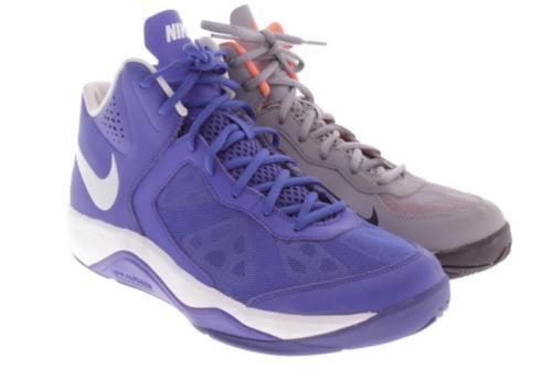 Mens Nike Cross Color Blue Gray Athletic Shoes 9.5 M
