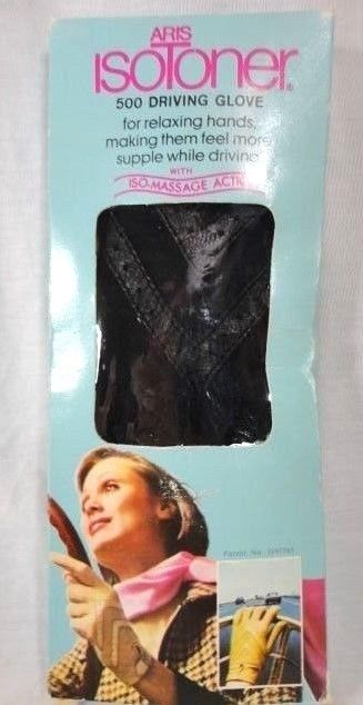 NIB Vintage Womens Isotoner 500 Driving Gloves