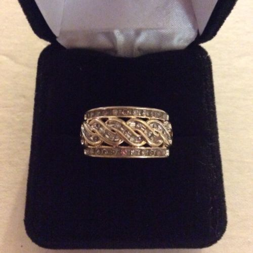 Samuel Aaron 1/2 ct diamond ring 10kt