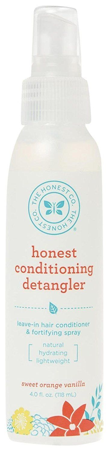 The Honest Co Honest Conditioning Detangler Spray- Sweet Orange Vanilla 4fl oz