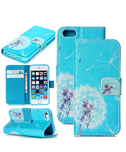 iPhone 6s Wallet Case,Candywe Flip Leather Case Cover For iPhone 6s 4.7