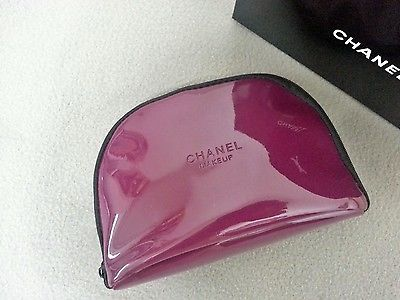 Chanel VIP Makeup Cosmetic Jewelry Travel Bag